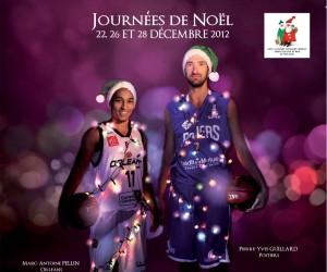 Les Journées de Noël LNB 2012 en soutien au Secours Populaire Français
