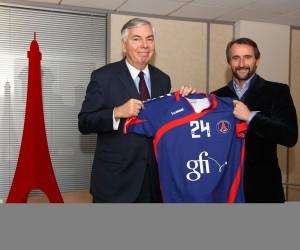 Le PSG Handball dévoile l'identité de son sponsor maillot : Gfi informatique