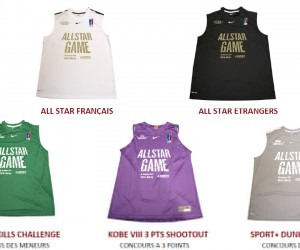Nike insère le hashtag #ASG2012 sur les maillots du All Star Game 2012