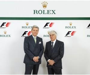 Rolex est le nouvel Horloger Officiel de la Formule 1
