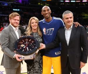 Hublot devient le 1er «Official Timekeeper» des Los Angeles Lakers