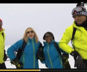Automne Pavia et Priscilla Gneto testent le Gangnam Style dans le clip des voeux 2013 de l'équipe de France Olympique