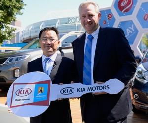 Kia prolonge son partenariat avec l'Open d'Australie jusqu'en 2018