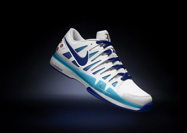 Tennis Blue Nike Roger Zoom Sky 9 Federer Australian Vapor Open 2013 WzzZBqxFw8