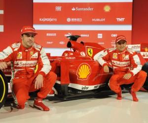 Sponsoring – Hublot s'affiche sur la nouvelle Formule 1 F138 de Ferrari