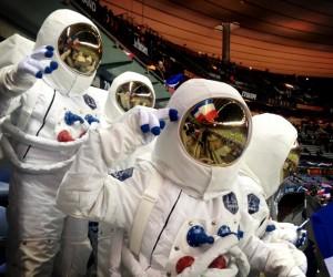 Ambush – Les Astronautes Axe s'invitent au Stade de France lors du match France-Allemagne