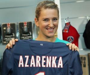 Tennis – Victoria Azarenka s'affiche avec le maillot du Paris Saint-Germain !
