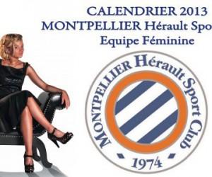 Foot Féminin – Montpellier dévoile son calendrier 2013 Glamour sur le thème pin-up des années 50