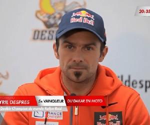 Cyril Desprès : «J'ai décidé d'arrêter ma carrière de pilote moto»