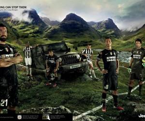 Jeep – Rien n'arrête les joueurs de la Juventus de Turin ! «NOTHING CAN STOP THEM»