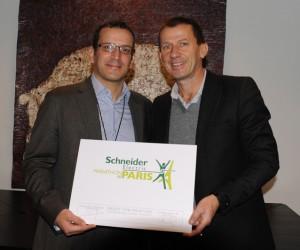 Sponsoring – Le Marathon de Paris devient le Schneider Electric Marathon de Paris !
