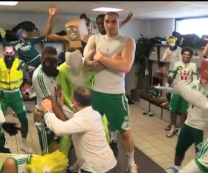 L'AS Saint-Etienne premier club de Ligue 1 à se lâcher sur le Harlem Shake