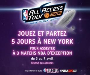 beIN SPORT vous envoie à New York pour assister à 3 matchs NBA en VIP !