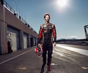 F1 – En 2013, soutenez Romain Grosjean avec Total !