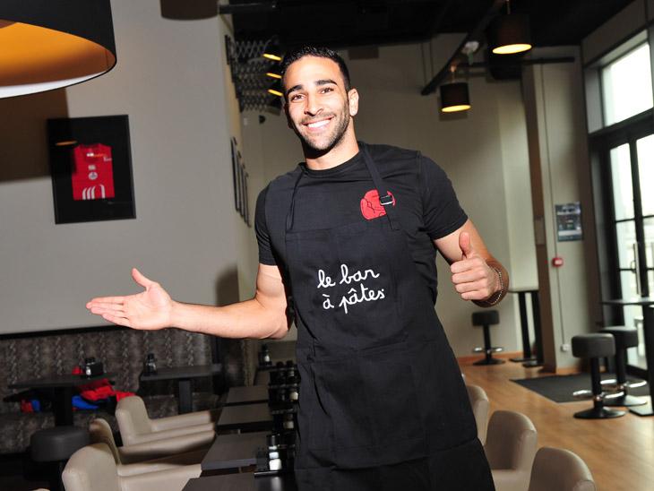 Adil Rami Bar à Pâtes LOSC lille grand stade