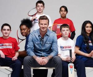 David Beckham ambassadeur de la chaîne Sky Sports