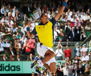 Roland Garros 2013 – Jo-Wilfried Tsonga repart avec un chèque de 375 000 euros