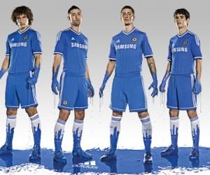 adidas et Chelsea présentent le nouveau maillot 2013/2014 (Home Kit)