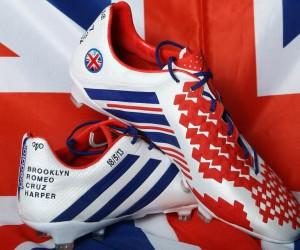 PSG – David Beckham portera une paire d'adidas aux couleurs de la Grande-Bretagne ce soir