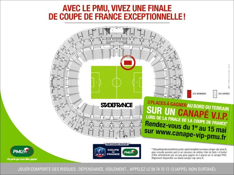 Vivez la finale de la coupe de france depuis un canap vip - Date de la finale de la coupe de france ...