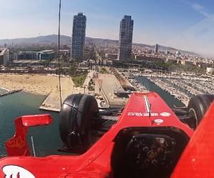 F1 – Ferrari «donne des aiiiles» à sa nouvelle monoplace volante ! (vidéo)
