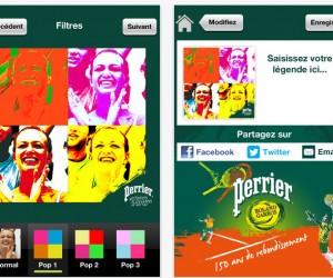 Roland Garros 2013 – Perrier vous propose de « warholiser » votre Expérience Fan
