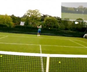 Wimbledon 2013 – Glissez-vous dans la peau de Bethanie Mattek-Sands grâce à ses lunettes «Google Glass» (vidéo)
