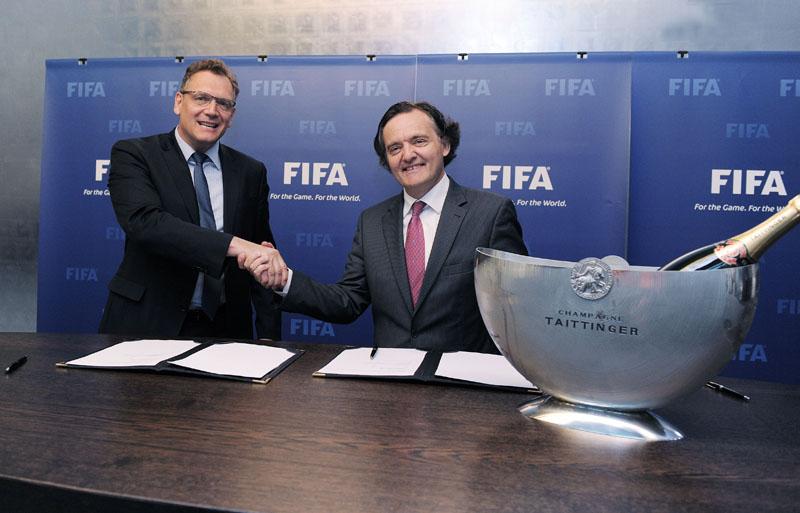 Taittinger devient champagne officiel de la fifa et de la for Maison du monde site officiel