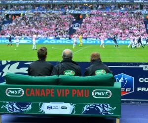 Canapé VIP PMU au Stade de France – «Une soirée inoubliable»