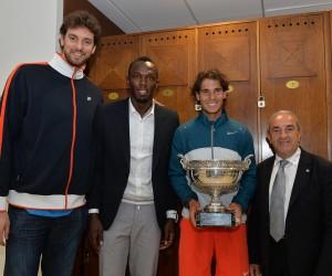 Rafael Nadal et Serena Williams remportent Roland Garros 2013 et le chèque d'1,5 million d'euros
