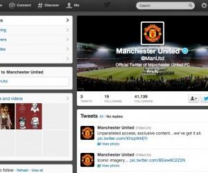 Manchester United débarque sur Twitter et Sina Weibo