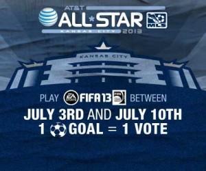 La MLS invite les fans à marquer des buts sur FIFA 13 pour désigner un joueur du MLS All-Star AT&T