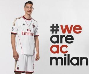 Milan AC – Nouveau Maillot Extérieur 2013/2014 (adidas)