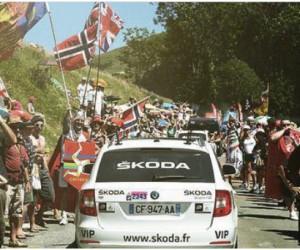 Tour de France 2013 – ŠKODA : «L'équipe officielle derrière toutes les équipes.» (vidéo sponsorisée)