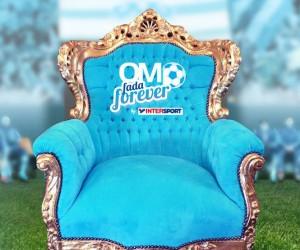 OM – Intersport va installer un fauteuil VIP (Golden Seat) sur la pelouse du Vélodrome !