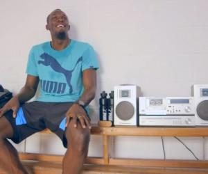 Usain Bolt révise son niveau de russe (vidéo)