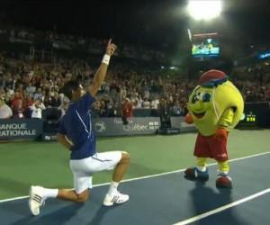 Djokovic danse sur «Get Lucky» des Daft Punk (Coupe Rogers – Montréal)