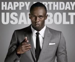 Happy Birthday Usain Bolt !