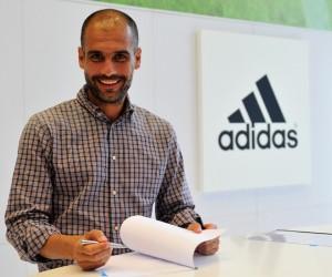 Pep Guardiola devient Ambassadeur adidas – #Pepisallin