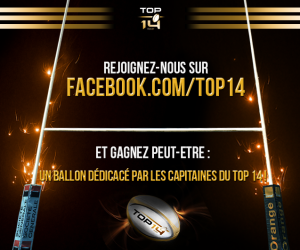Rugby – LNR : Le TOP 14 lance sa Page Officielle Facebook