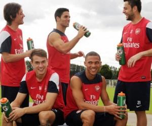 Gatorade s'associe à Liverpool et Arsenal