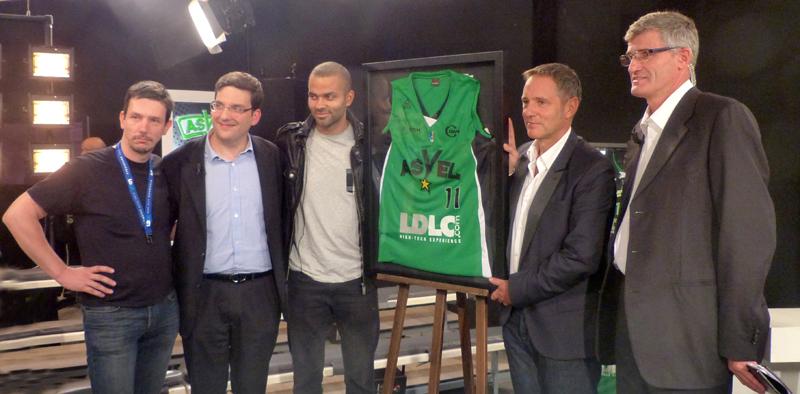 LDLC sponsor ASVEL Tony Parker