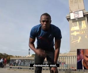 Usain Bolt montre à Tony Parker comment marquer des shoots longue distance (vidéo)