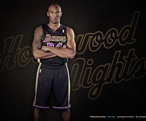 NBA – Un maillot noir pour les Los Angeles Lakers (Hollywood Nights)