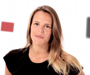 """Laure Manaudou au départ du jeu """"Serial Parieurs"""" by PMU !"""