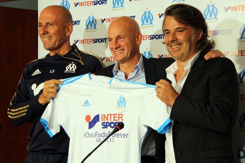 INTERSPORT OM PSG maillot collector