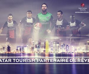 Qatar Tourism Authority lance sa campagne de communication autour du PSG
