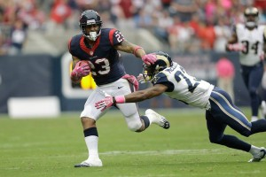 arian foster houston texans nfl wall street