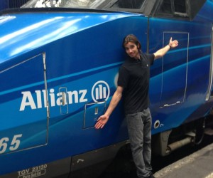 Allianz nouveau partenaire de Kevin Rolland