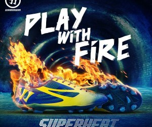 Warrior Football dévoile sa chaussure de football légère : la Superheat